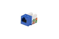 Black Box Cat5E Unshielded Keystone Jack Blue FMT920-R2