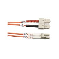 Black Box Black Box Connect OM2 50-Micron Multimode Fiber Optic Patch Cable - Du FO50-001M-SCLC