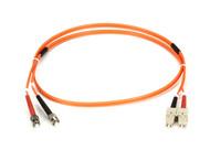 Black Box Black Box Connect OM2 50-Micron Multimode Fiber Optic Patch Cable - Du FO50-001M-STSC