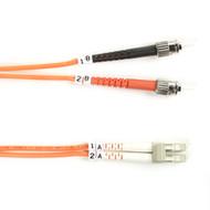 Black Box Black Box Connect OM2 50-Micron Multimode Fiber Optic Patch Cable - Du FO50-002M-STLC
