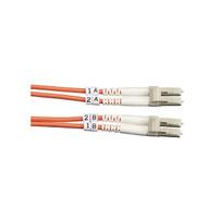 Black Box Black Box Connect OM2 50-Micron Multimode Fiber Optic Patch Cable - Du FO50-010M-LCLC