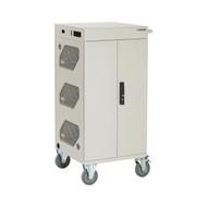 Black Box Standard Cart Basic Chrg 30-Dev Hng Dr Hasp Frnt Cbl Mng LCC30H-AC-HASP-R2