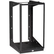 Black Box 19U Wallmount Rack 12-24 Tapped Rail Holes 100 lb. Capacity RM051A-R3
