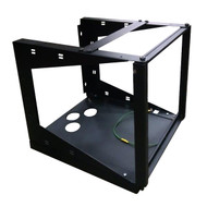Black Box 11U Wallmount Rack 12-24 Tapped Rail Holes 75 lb. Capacity RM050A-R3