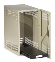Black Box CPU Security Cabinet - Office White RM192A-R2