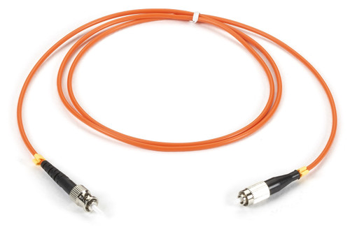 Black Box Cable Assembly, FC to ST, Simplex 62.5, Multimode, 1-m FOCA-FCST-1M
