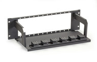 Black Box Universal Fiber Patch Panel, 12 Vertical LGX Slots FOPP50-12V-3U
