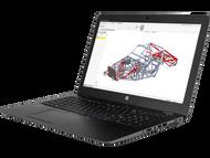 HP ZBook 15u G4 Touch W10P-64 i7 7500U 2.7GHz 256GB SSD 8GB 15.6FHD WLAN BT BL FPR NFC Cam Notebook PC