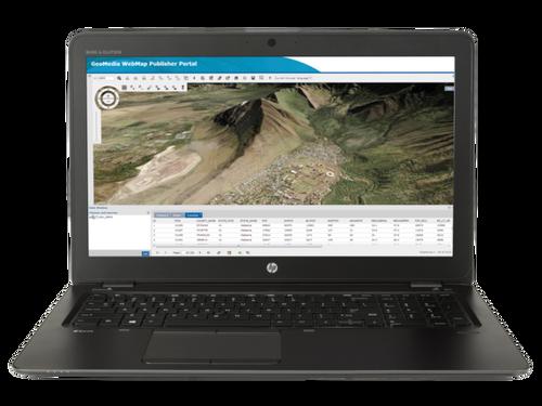 HP ZBook 15u G3 W10P-64 i7 6500U 2.5GHz 512GB NVME 16GB(1x16GB) 15.6FHD WLAN BT BL FPR NFC Cam Notebook PC