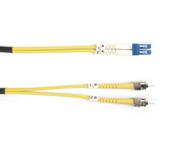 Black Box Black Box Connect 9-Micron Single-Mode Fiber Optic Patch Cable - Duple FOSM-010M-STLC