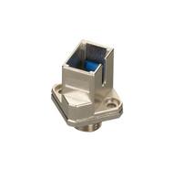 Black Box Fiber Optic Adapter, SC-FC, Multimode, Simplex, Square Mounting FOT107