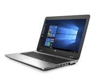 HP ProBook 655 G3 W10P-64 AMD Pro A8-9600B 2.4GHz 1TB SATA 8GB BluRay Writer 15.6FHD WLAN BT BL FPR No-NFC Serial Cam Notebook PC