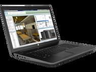 HP ZBook 17 G4 W10P-64 i7 7820HQ 2.9GHz 256GB SSD 512GB NVME 1TB NVME 32GB(2x16GB) 17.3UHD WLAN BT BL FPR P4000 8GB Cam Notebook