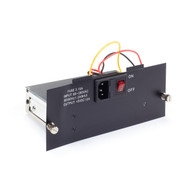 Black Box Copper to Fiber Media Converter Chassis Left Power Supply LHGC-RACK-PS-L