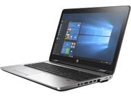 HP ProBook 650 G3 W10P-64 i3 7100U 2.4GHz 128GB SSD 8GB(1x8GB) DVDRW 15.6FHD WLAN BT FPR No-NFC Cam Notebook