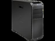HP z6 G4 W10P-64 X Bronze 3106 1.7GHz 2P 256GB NVME 1TB SATA 32GB(4x8GB) ECC DDR4 2666 DVDRW Quadro P1000 1000W 4GB