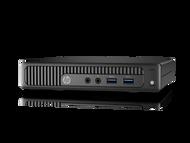 HP 260 G2 W10P-64 i3 6100U 2.3GHz 500GB SATA 4GB(1x4GB) DDR4 2400 WLAN BT Mini Desktop