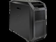 HP z8 G4 W10P-64 X Gold 6132 2.6GHz 2P 3-512GB NVME 128GB(4x32GB) ECC DDR4 2666 DVDRW 2-Quadro P5000 16GB 1125W