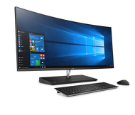 HP EliteOne 1000 W10P-64 i7 7700 3.6GHz 512GB NVME 512GB SSD 16GB(1x16GB) 34.0WQHD Curved No-Wireless FPR Cam