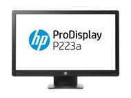 HP ProDisplay P223a 21.5 inch 1920 x 1080 DisplayPort 1.2 VGA Speakers Monitor