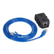 Black Box AlertWerks Monitoring System SNMP Temp Sensor w/ 5-ft. Fixed Cable EME1T5SNMP-R2