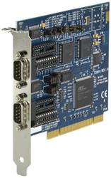 Black Box RS-232/422/485 PCI Card, 2-Port, 16550 UART IC133C-R2