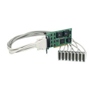 Black Box PCI bus serial board eight port RS232 eight DB25 IC142C