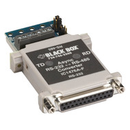 Black Box Async RS232 to RS485 interface converter DB25 to Terminal Block IC1476A-F-US