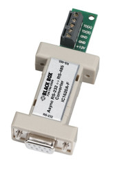 Black Box Async RS-232 to RS-485 Interface Bidirectional Converter, DB9 Female t IC1620A-F