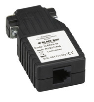Black Box Async RS-232 to RS-485 Interface Converter, DB9 Male to RJ-11 IC623A-M