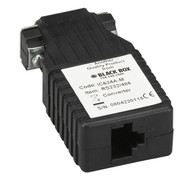 Black Box Async RS-232 to RS-485 Interface Converter, DB9 Male to RJ-45 IC624A-M