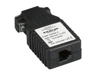 Black Box Async RS232 to RS422 Interface Converter, DB9 to RJ-11 IC630A-F