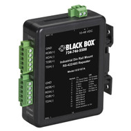 Black Box RS-422/RS-485 Industrial DIN Rail Repeater ICD107A