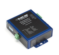 Black Box Industrial Opto-Isolated Serial to Fiber Multimode ST Converter ICD115A