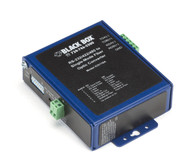 Black Box Industrial Opto-Isolated Serial to Fiber Single-Mode SC Converter ICD116A