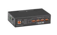 Black Box Industrial-Grade USB Hub, 4-Port ICI200A