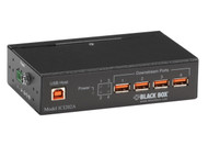 Black Box Industrial-Grade USB Hub, 4-Port with Isolation ICI202A