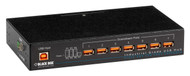 Black Box Industrial-Grade USB Hub, 7-Port ICI207A