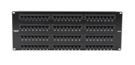 Black Box CAT5e Econo Patch Panel, 96-Port, 4U, Universal Wiring JPM114A-R5
