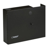 Black Box Open-Style, Unloaded Fiber Wall Cabinet, Accepts 2 Adapter Panels JPM400A-R2