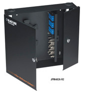 Black Box Wallmount Fiber Enclosure Locking, 4-Slot JPM402A-R2