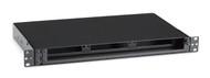 Black Box Rackmount Fiber Enclosure Non-Locking, 1U, 3-Slot JPM407A-R5