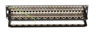 Black Box CAT6 Feed-Through Patch Panel, Shielded, 48-Port JPM816A
