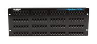 Black Box CAT5e Patch Panel, 2U, Unshielded, 96-Port JPM910A-R4