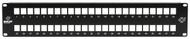 Black Box Multimedia Patch Panel, 2U, 48-Port JPMT1048A