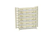 Black Box CAT5e 300-Pair Wiring Block Kit, (1) Wiring Block, (60) 4-Pair Connect JPT5E300-4PR