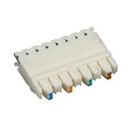 Black Box CAT5e Connecting Blocks, 4-Pair, 100-Pack JPT5E-4PR-100PAK