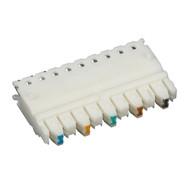 Black Box CAT5e Connecting Block, 5-Pair, 25-Pack JPT5E-5PR-25PAK