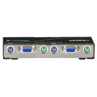 Black Box Reverse KVM Switch 2 port, Native VGA, PS/2 KV221A