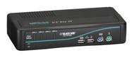 Black Box 4-Port Desktop KVM Switch, VGA, USB or PS/2, Audio KV7021A